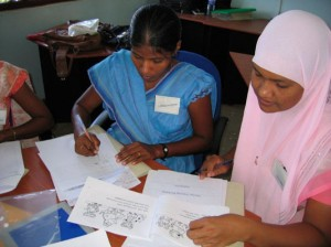 Teacher training in Sri Lanka