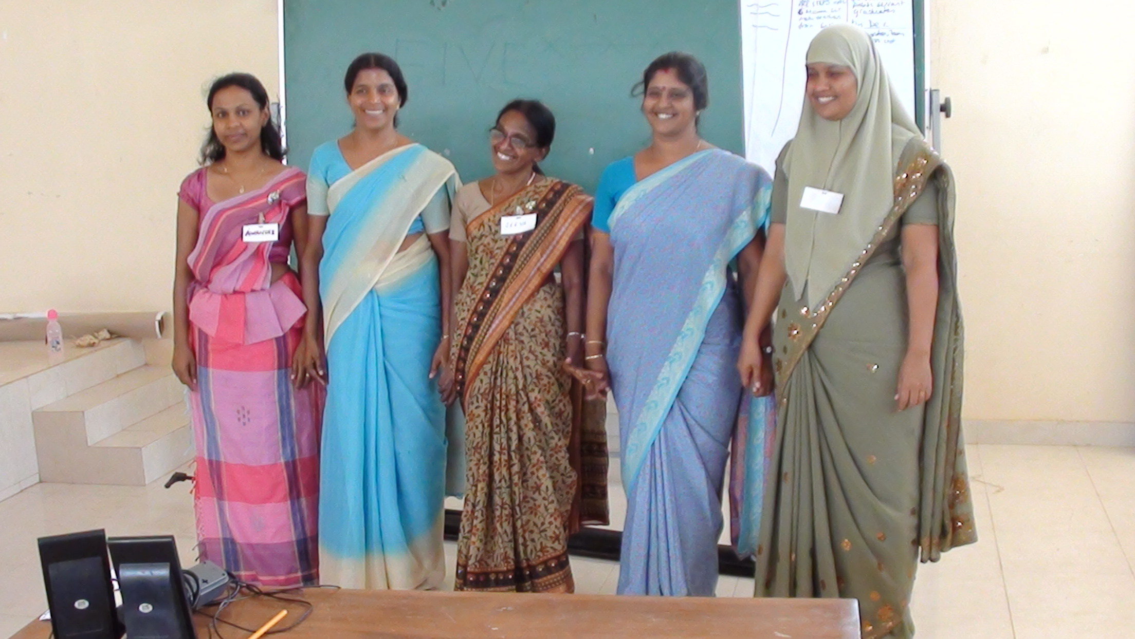 Sri Lankan Lotus Program Trainers