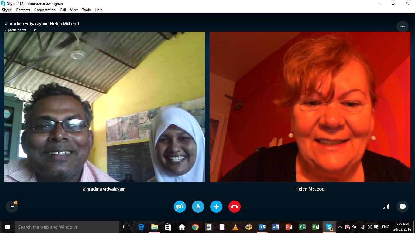 Al Madina Skype English Lesson
